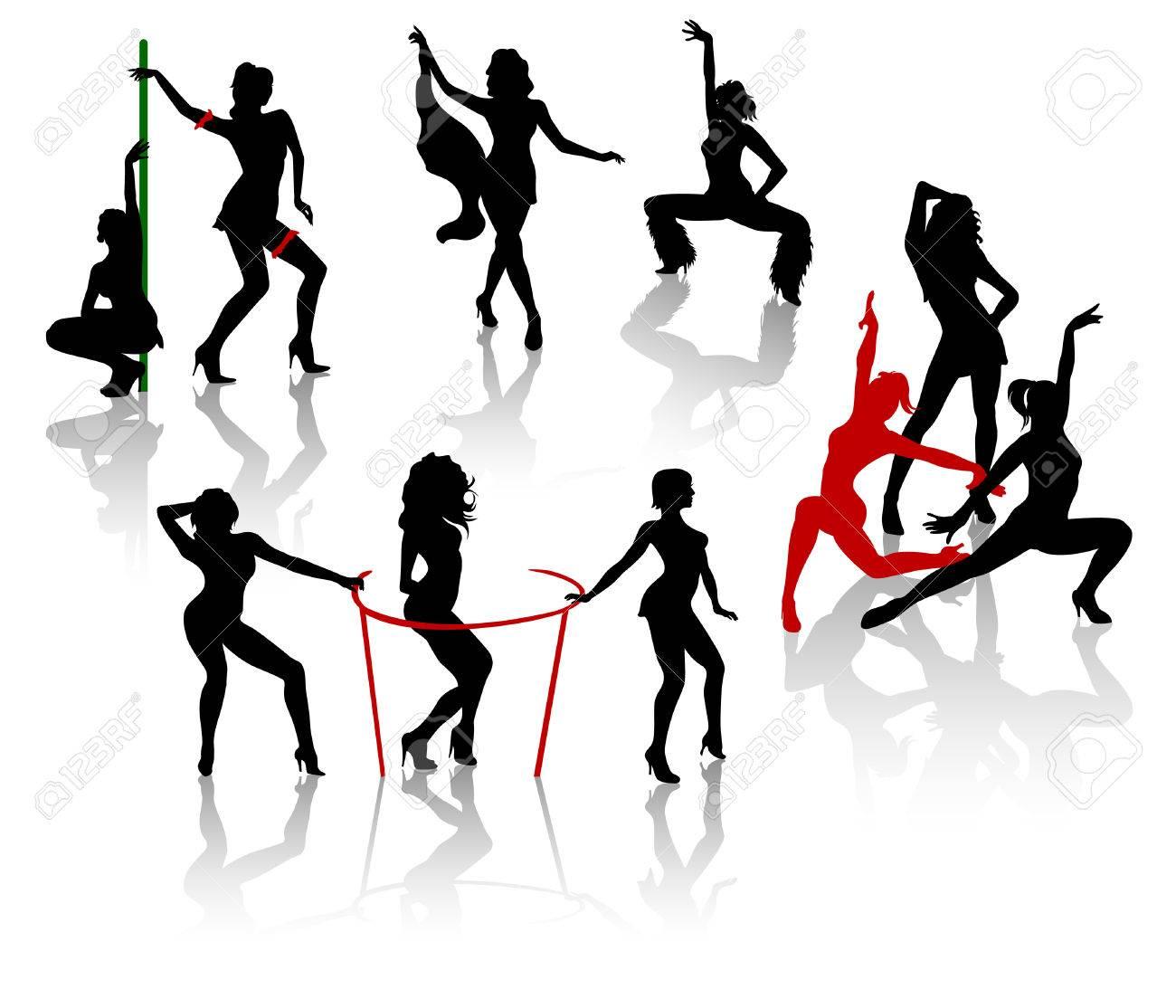 Сексуальная девушка танцует go go 12 фотография