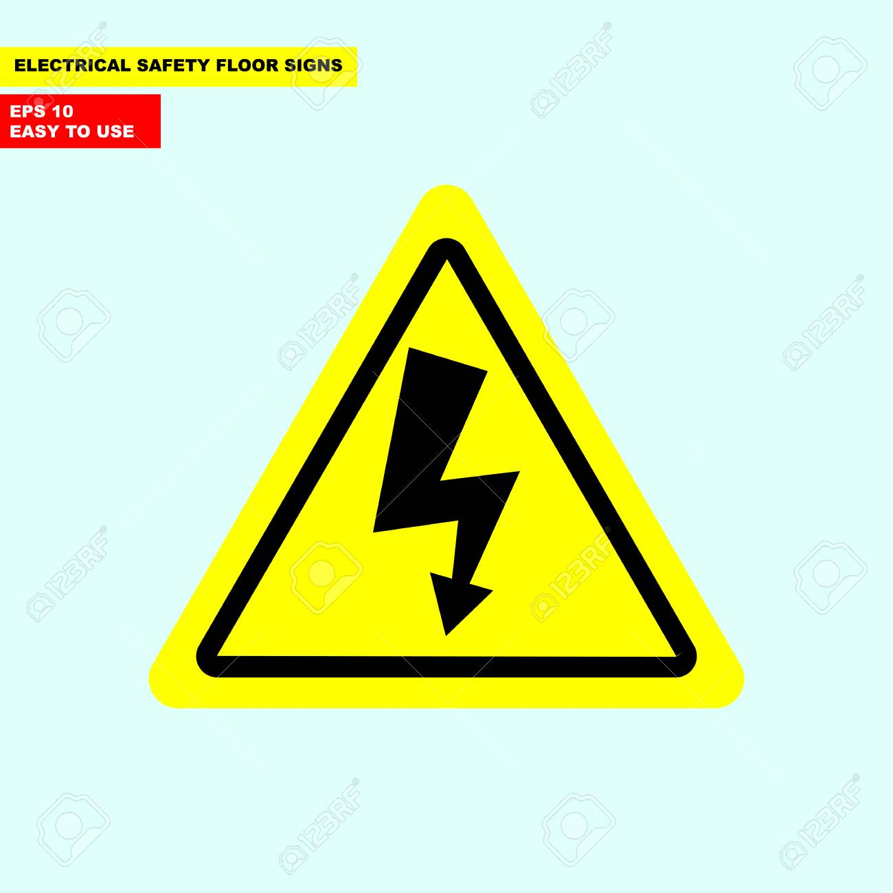 Danger High Voltage Symbol Royalty Free Cliparts Vectors And Stock