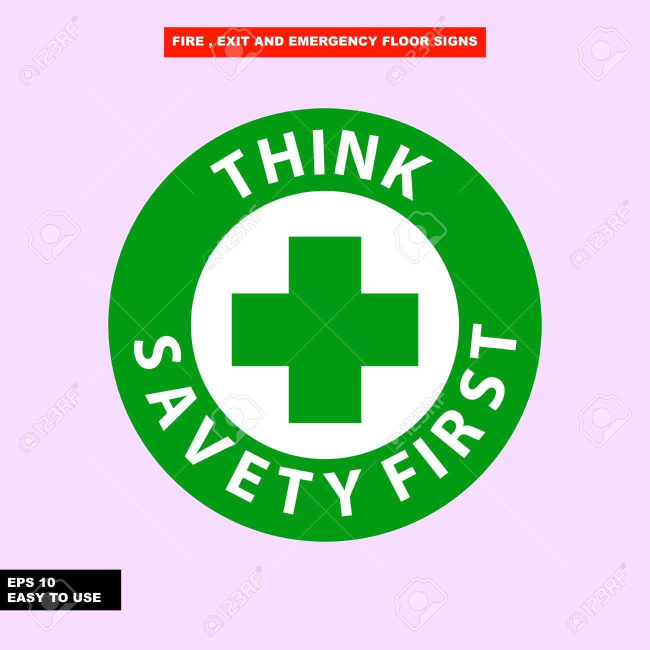 Think Safety First Logo