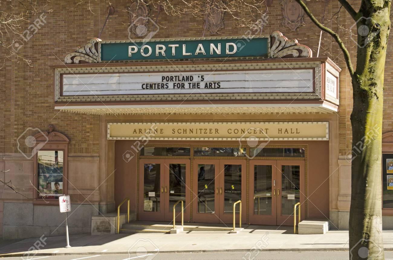 Portland OR USA February Arlene Schnitzer Concert - Schnitzer concert hall portland