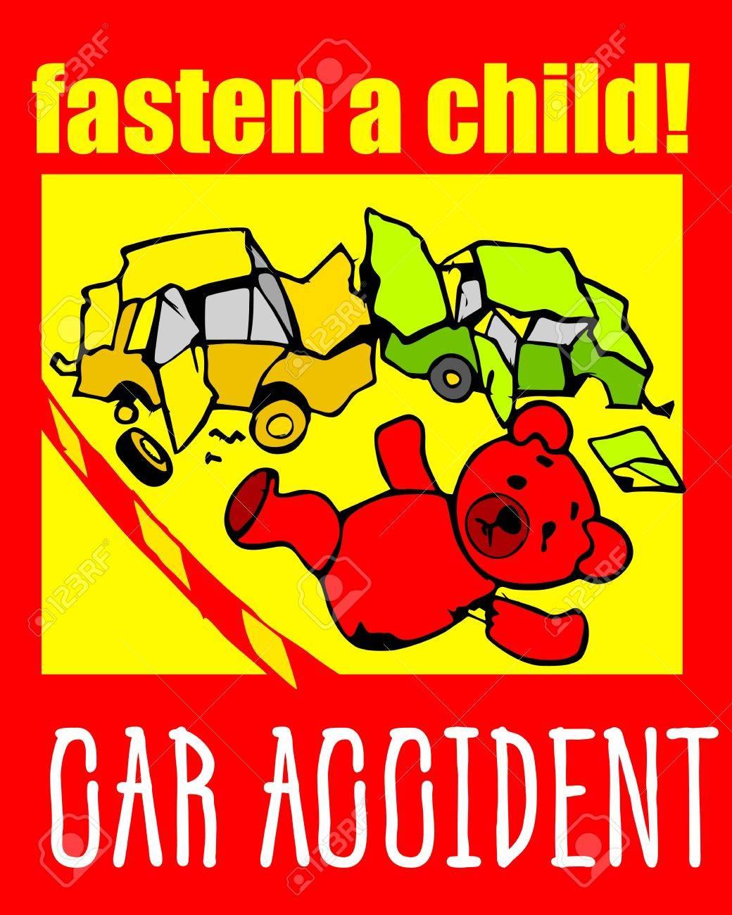 Accident RouteCeinture Enfant Pristegite La Bébé Pour EnfantAttentionDangerAuto Sécurité Sur SécuritéSiège De qVpMSzU