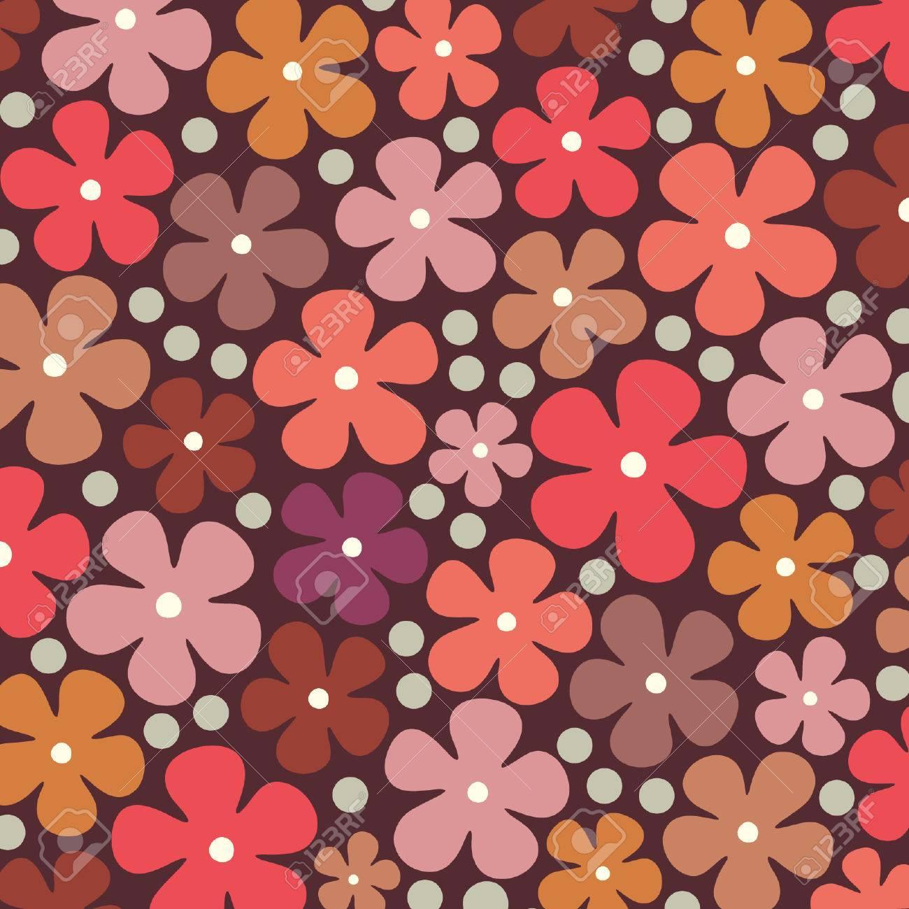 flower background design Stock Vector - 5844208