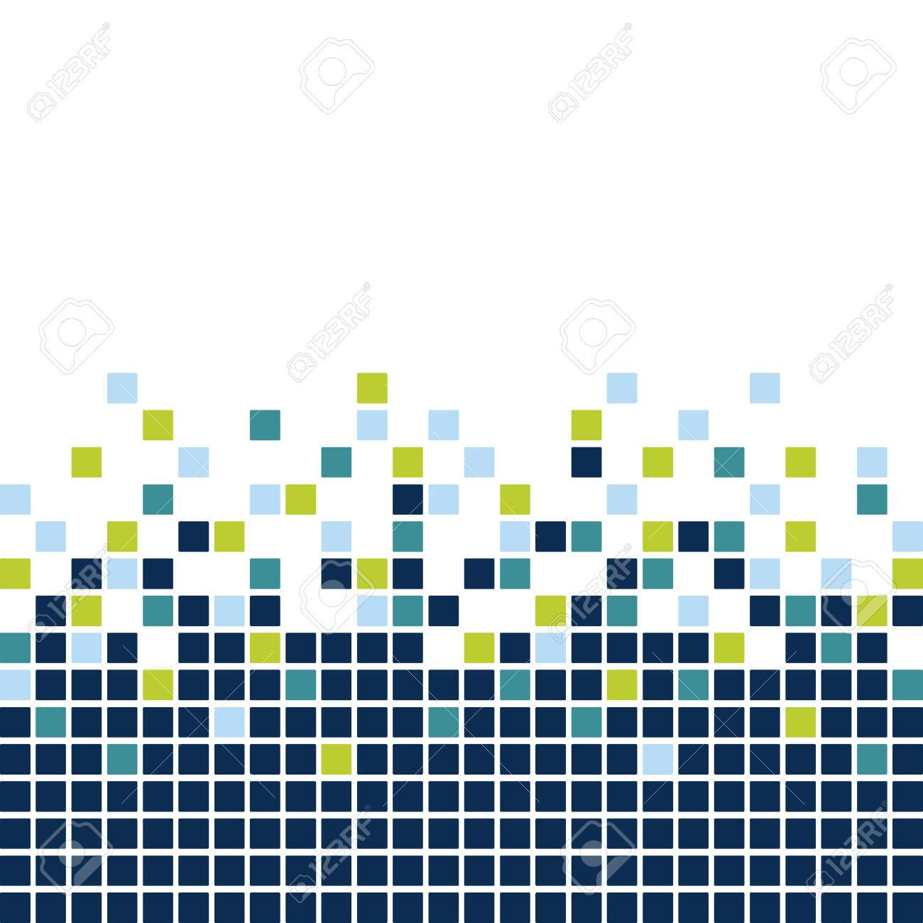 Mosaic Background Stock Vector - 6761310