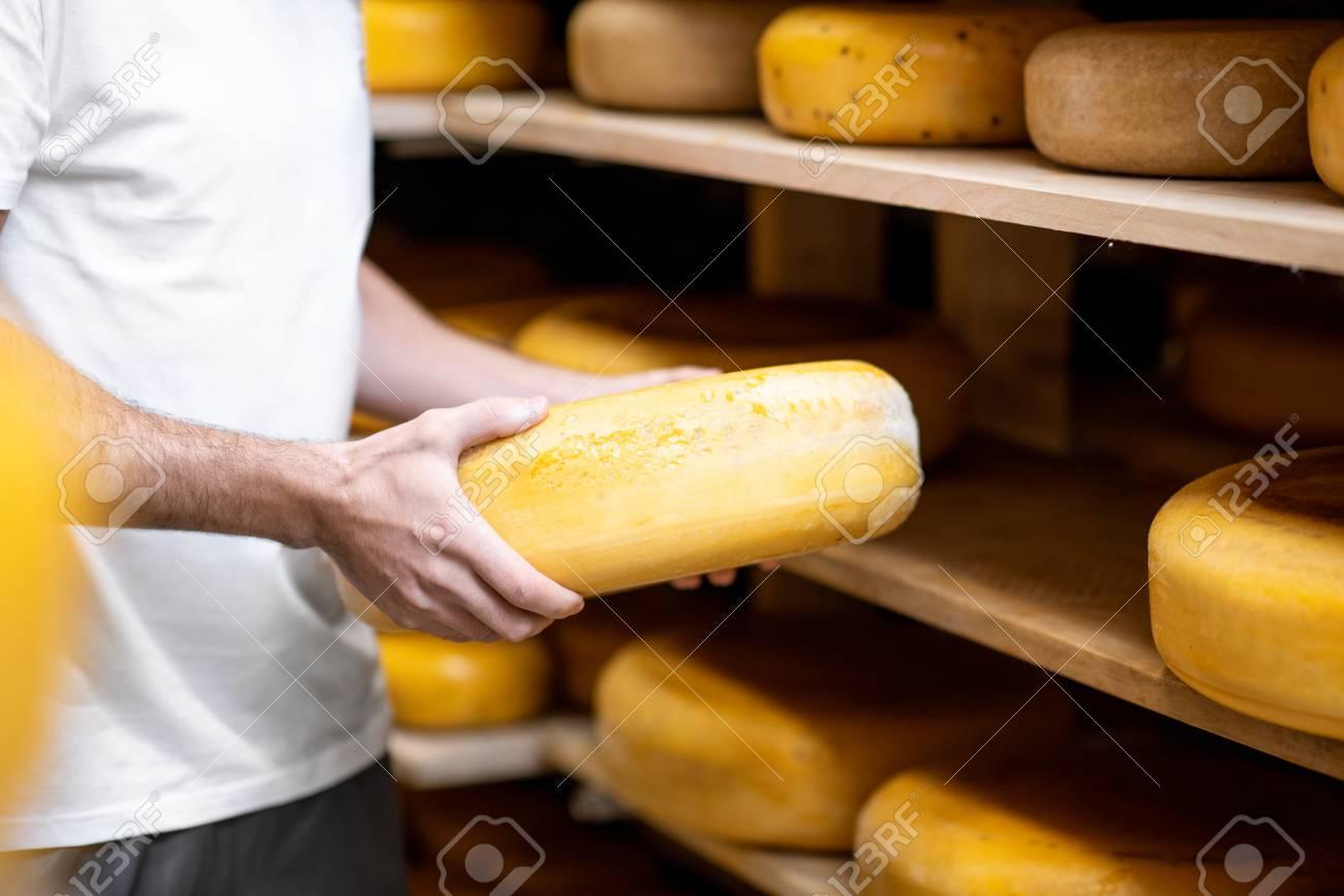 Cheese cheese worker