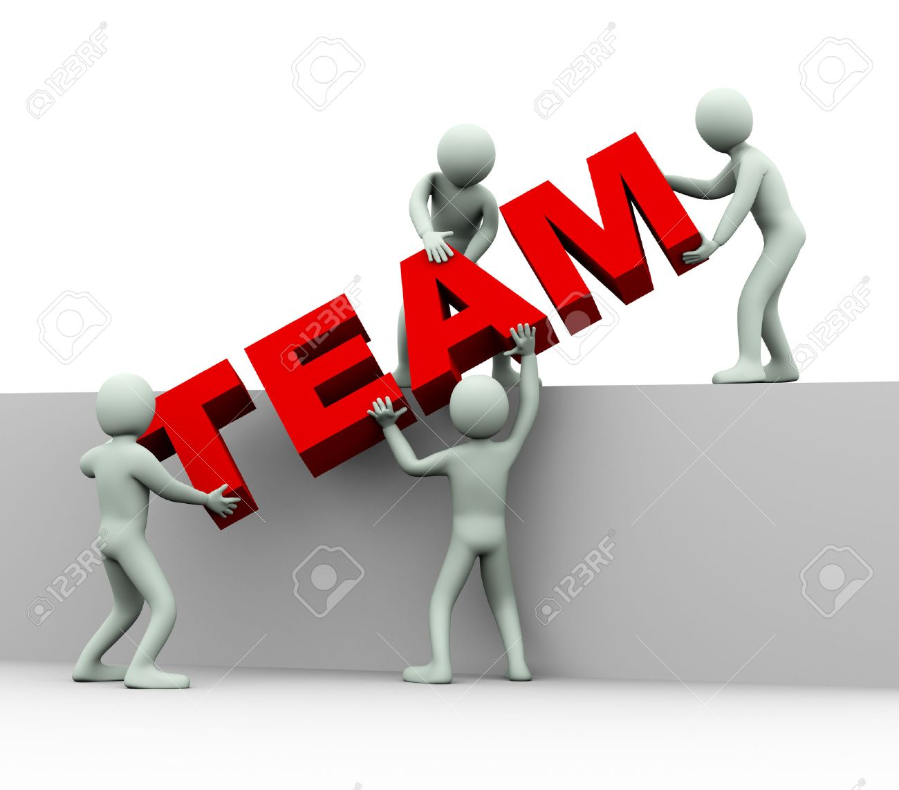 team working together images stock pictures royalty team team working together 3d illustration of men working together and placing word team 3d rendering