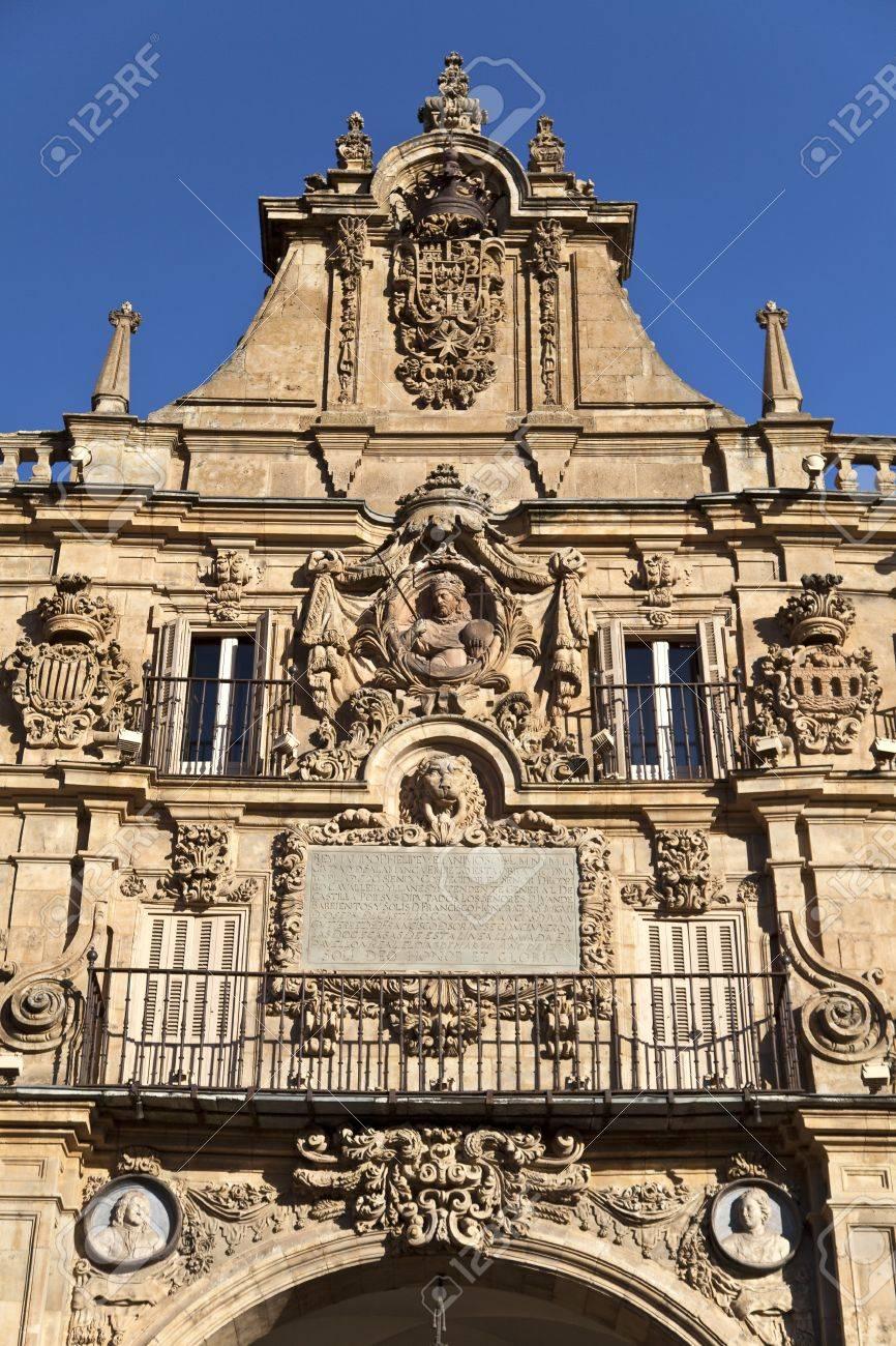 Salamanca Plaza Mayor Stock Photo - 13877403
