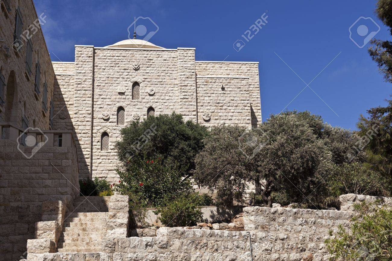 Our Lady of Mount Carmel Monastery, Haifa, Israel Stock Photo - 15016033