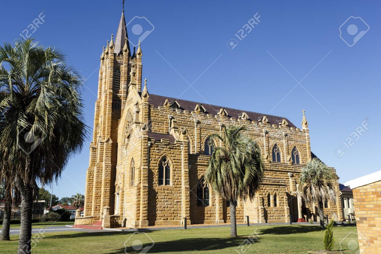 St Mary Catholic Church Is A Twentieth Century Gothic Revival Sandstone Erected Between 1920 And