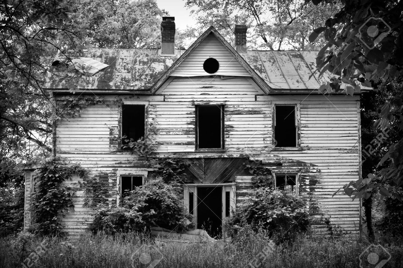 Old Abandoned Scary House Stock Photo Picture And Royalty Free Image Image 9698741