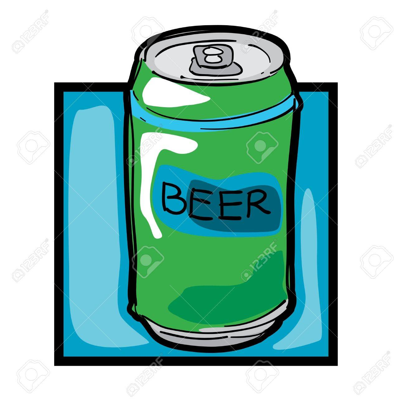 classic clip art graphic icon with beer can royalty free cliparts rh 123rf com beer can chicken clip art beer can pictures clip art
