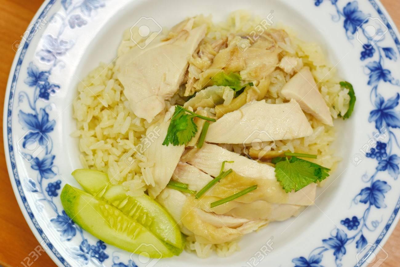 Diät weißer Hühnerreis
