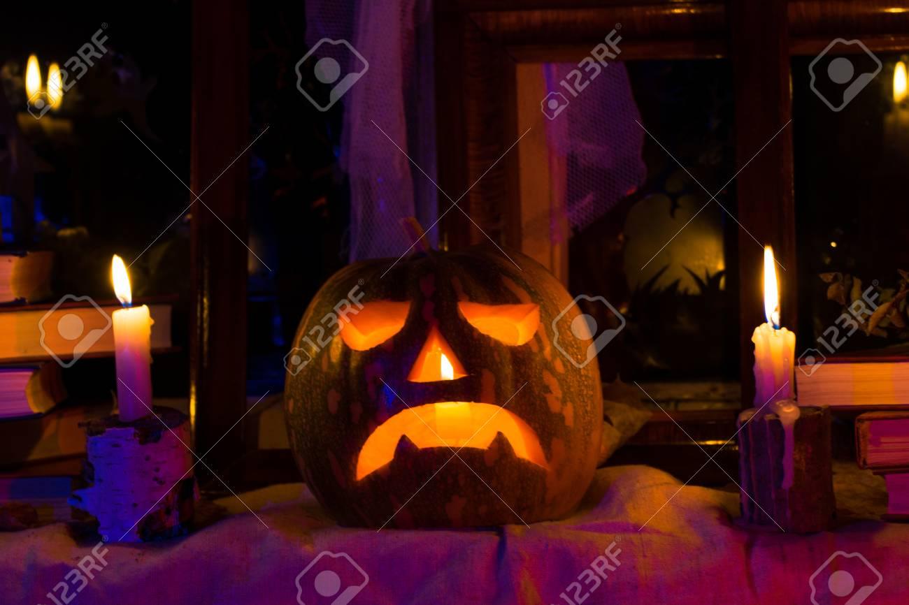 photo pumpkins for halloween all saints day halloween feast stock photo 66357415