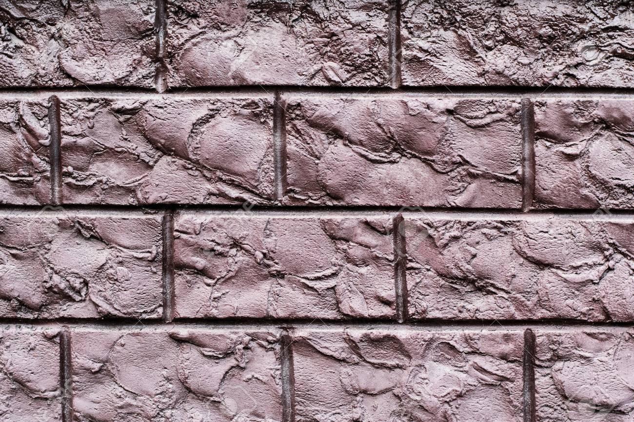 Banque Du0027images   Texture Du0027un Mur De Brique Décorative Marron. Peut être  Utilisé Comme Arrière Plan En Design Du0027intérieur.