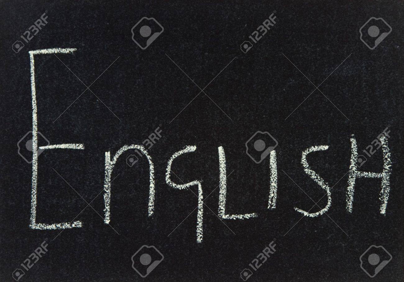 English written