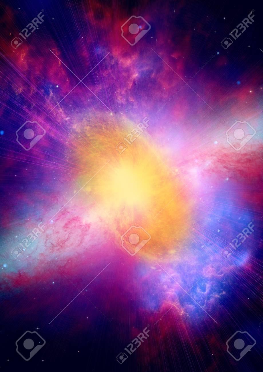 Far away galaxy Stock Photo - 14099374