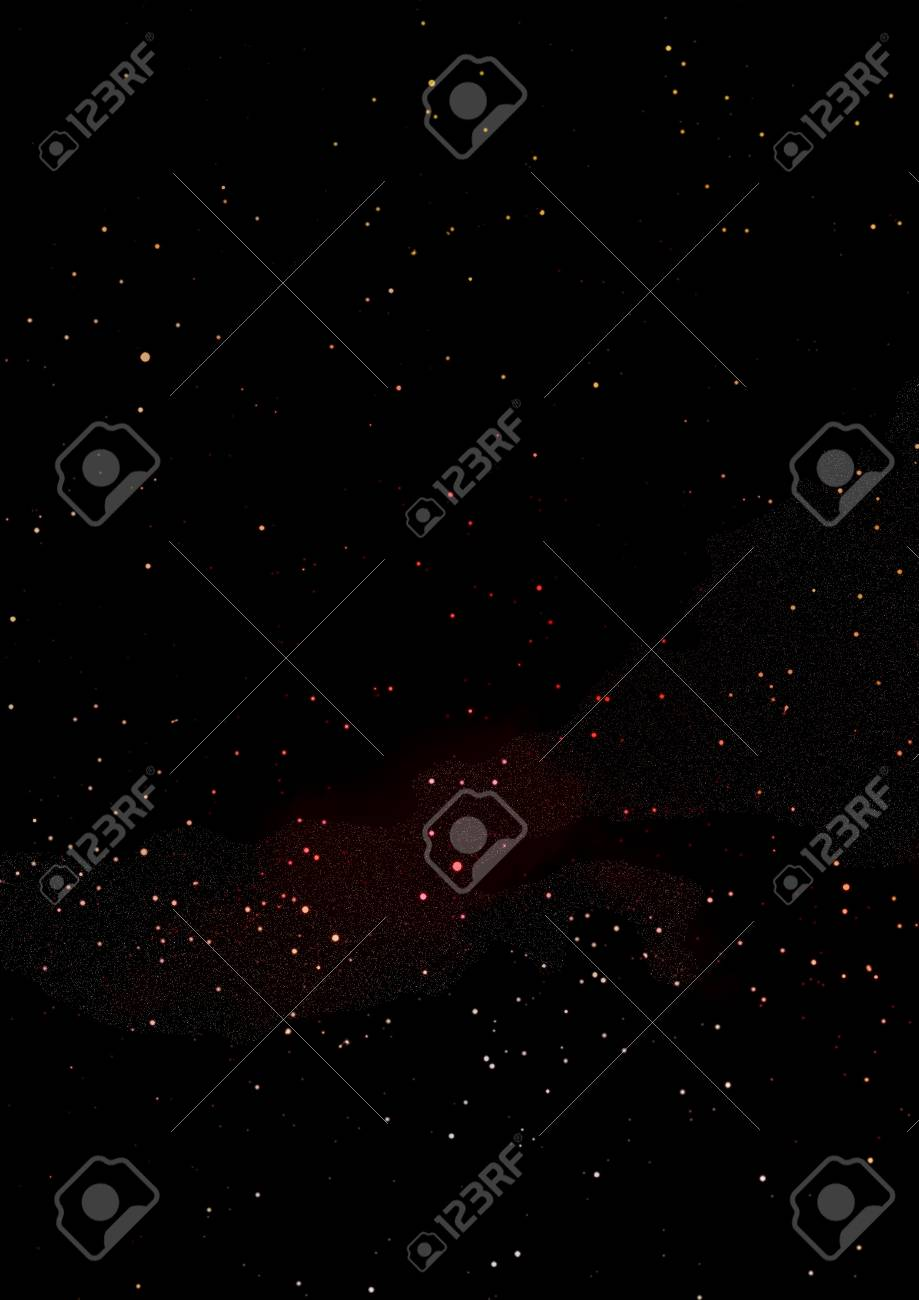 Small part of an infinite star field Stock Photo - 16794727