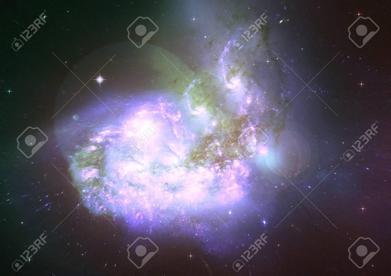 Being shone nebula Stock Photo - 18633538