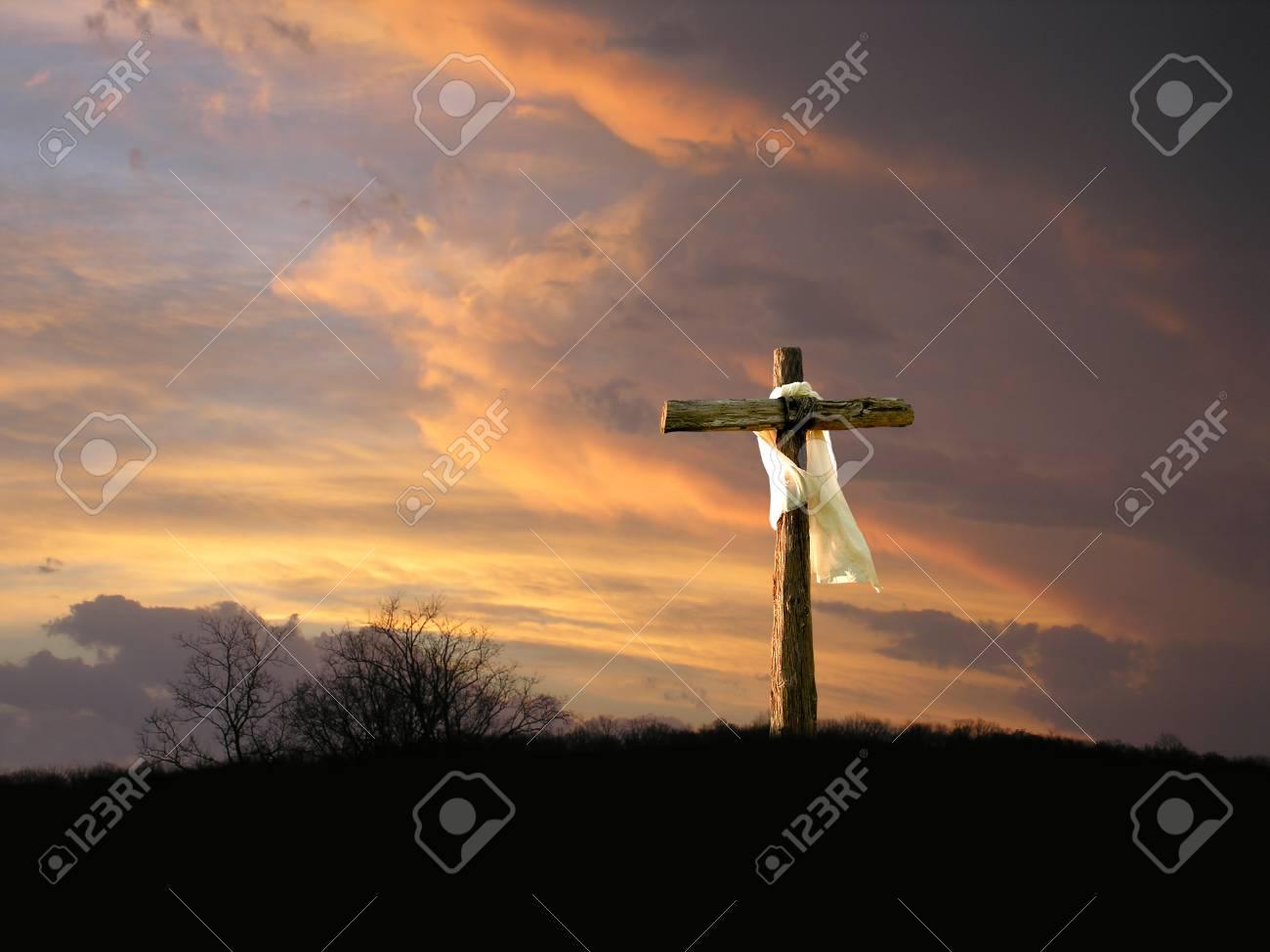 Cross with Sunrise - 95555677