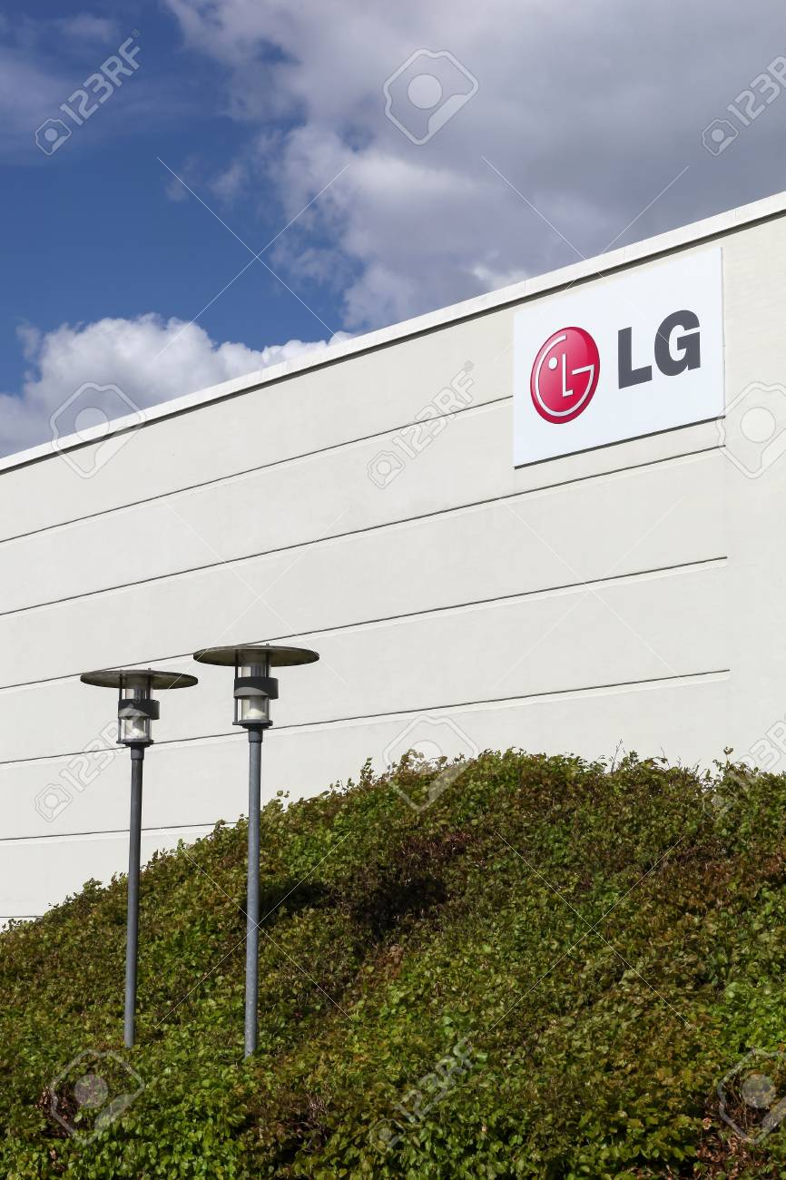 Skejby, Denmark - May 16, 2016: LG offices in Skejby, Denmark