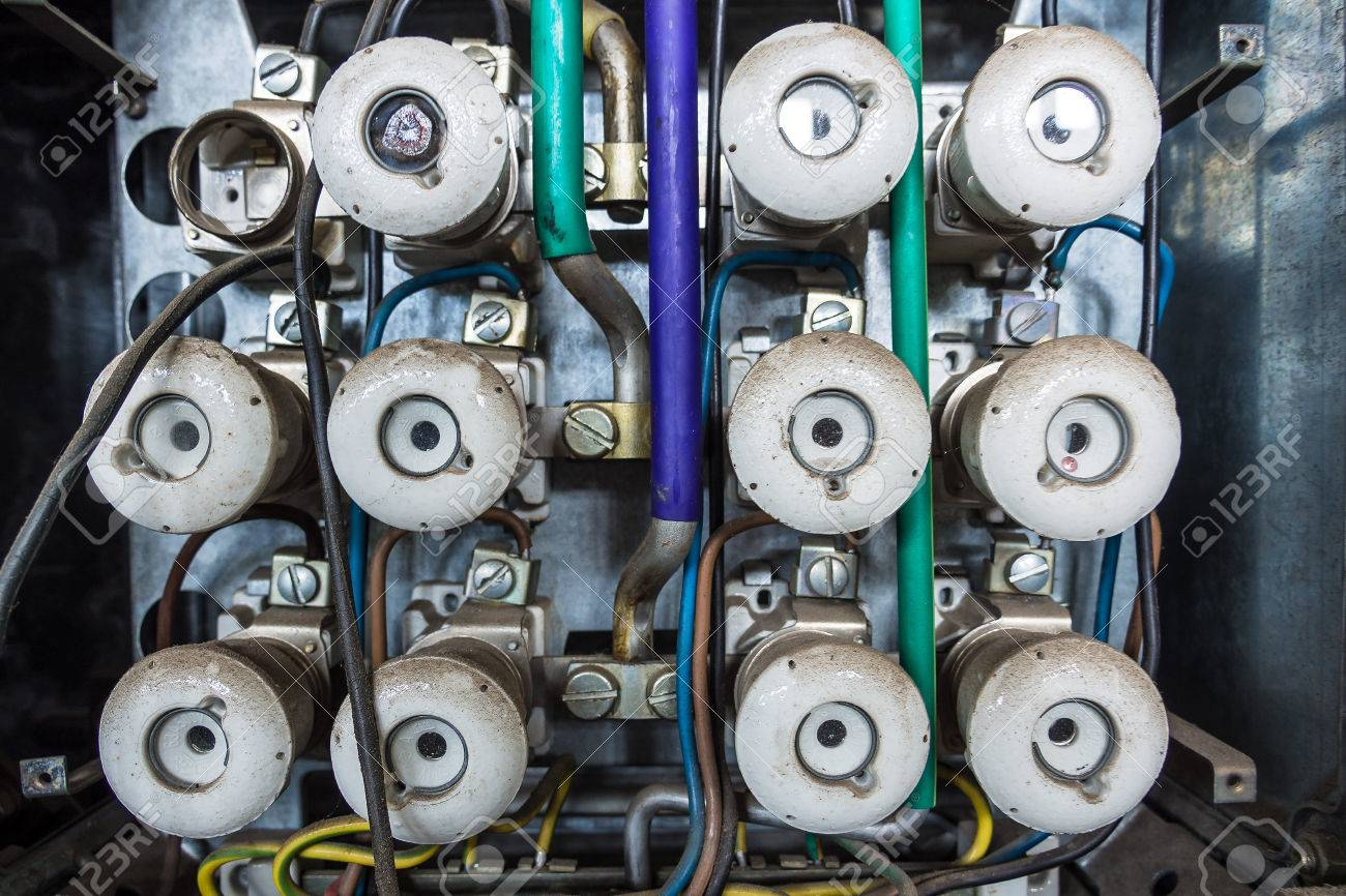 Old Fuse Box Murray An Out Of Order Stock Photo Picture And Royalty Free 1300x866