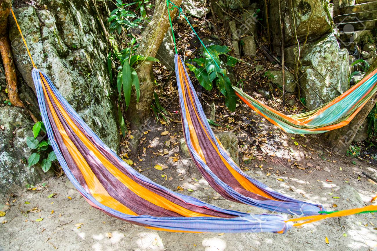 colorful hammocks stock photo picture and royalty free image image