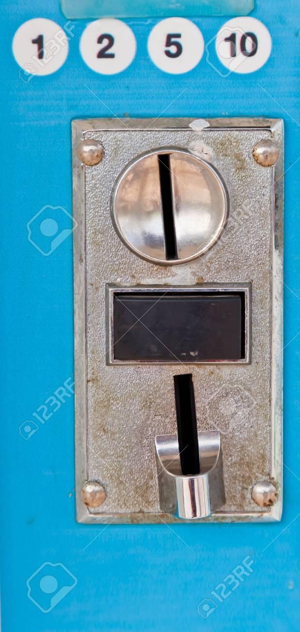 The closeup image of a vending machine - 16801961