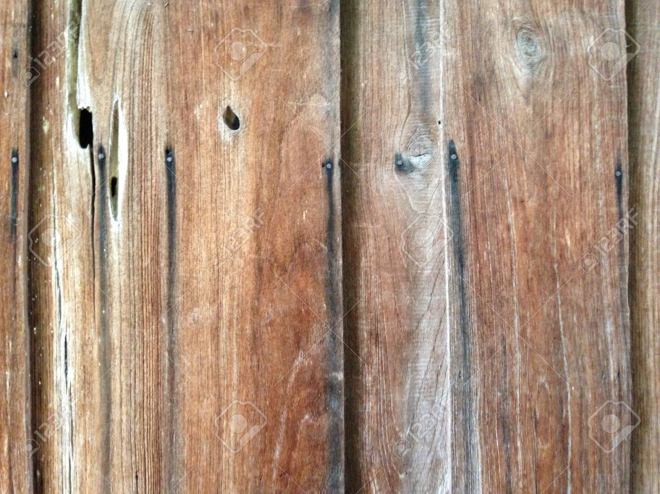 The background image of the old wooden wall - 22034581