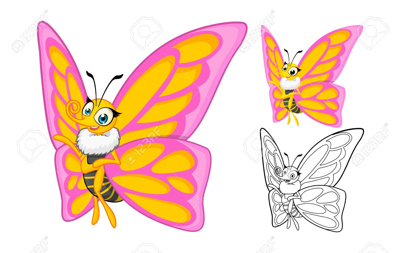 Berühmt Süße Schmetterling Malvorlagen Zeitgenössisch - Framing ...