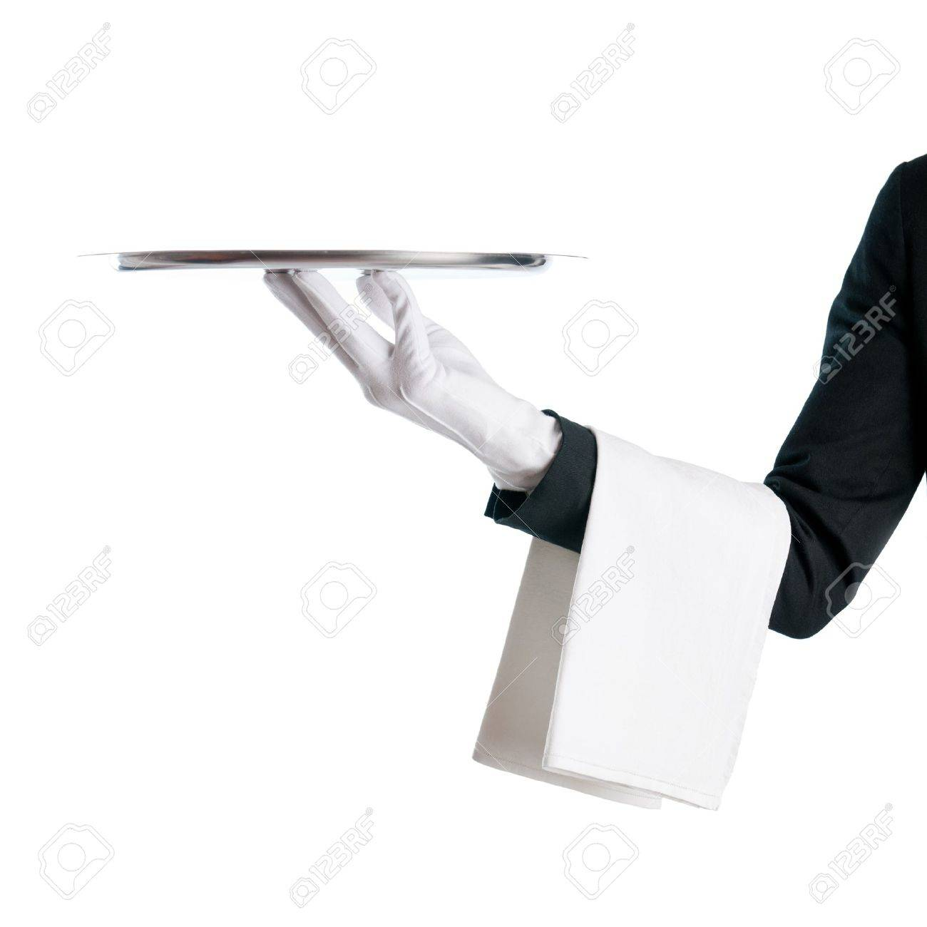 waiter  Waiter serving with  Waiters Serving Tray