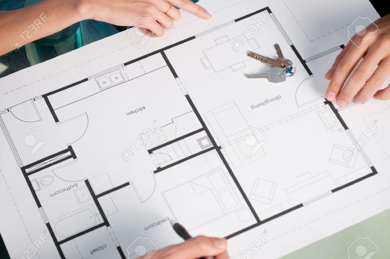 comment faire plan maison latest affordable banque duimages closeup vue de - Comment Faire Des Plans De Maison