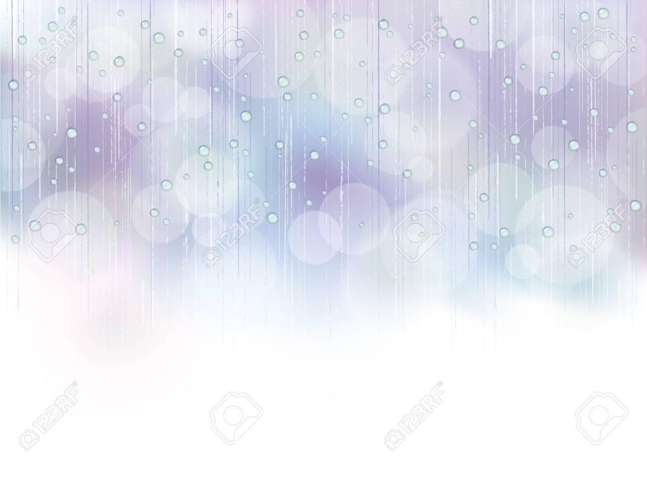blue_rain Foto de archivo - 18254345