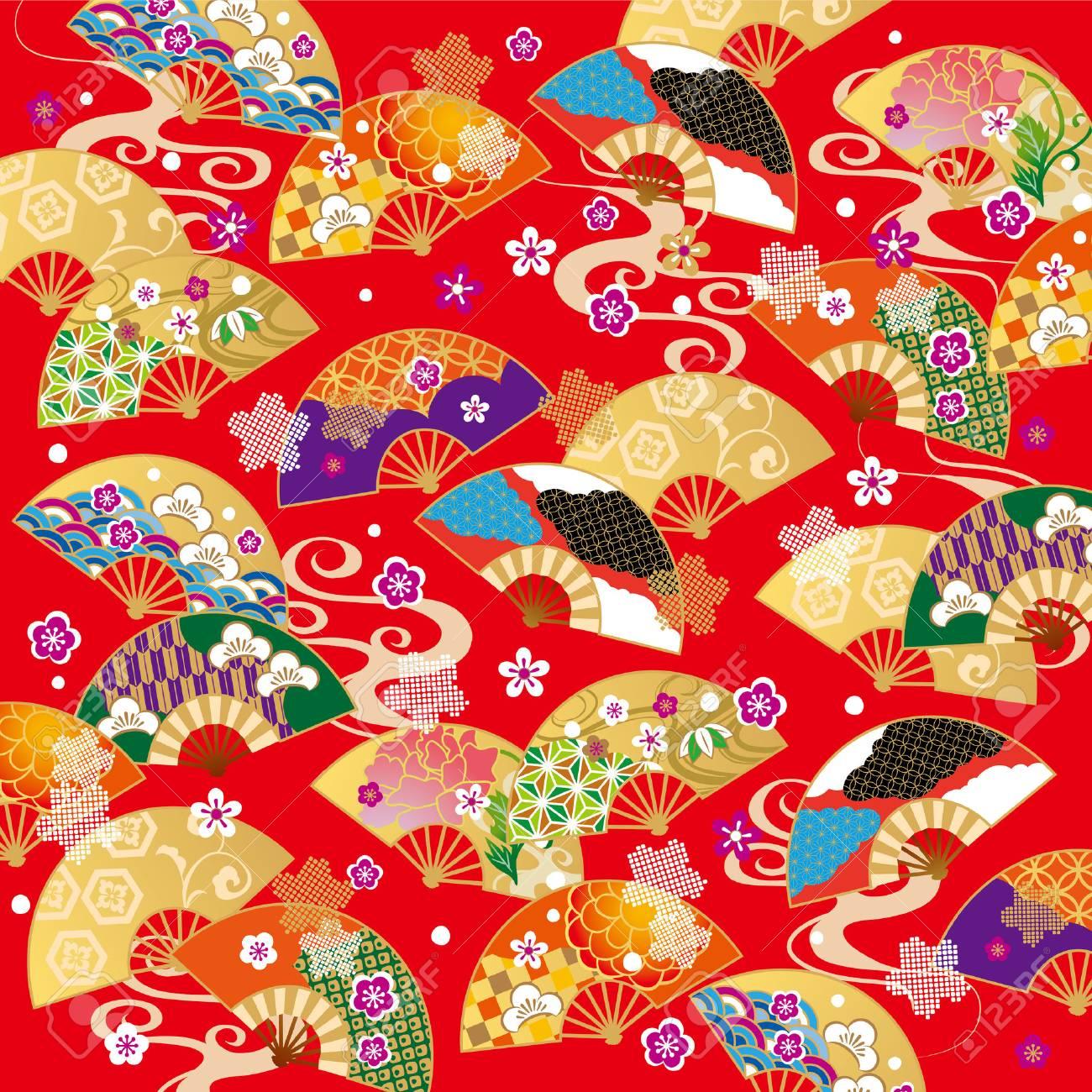 The beautiful pattern of Japan - 63044057
