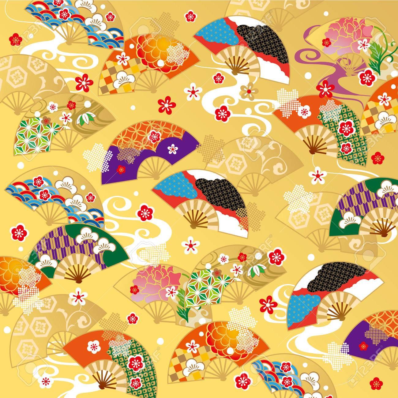 The beautiful pattern of Japan - 63044094