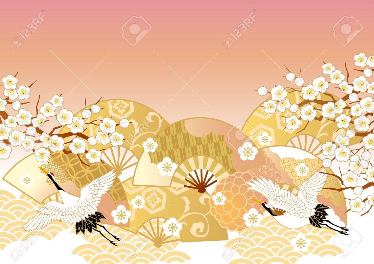 The beautiful pattern of Japan - 63044559