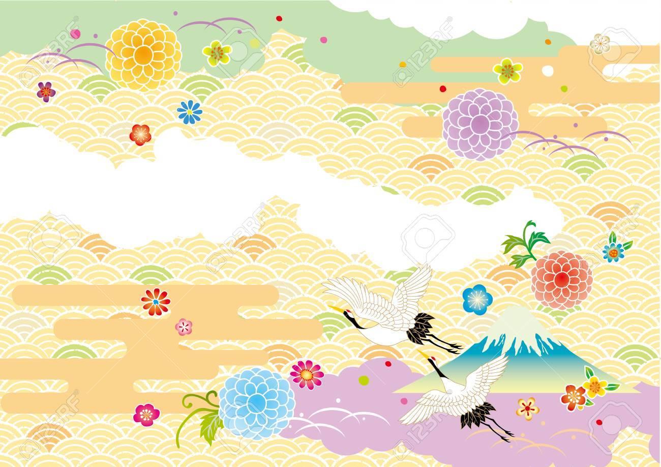 The beautiful pattern of Japan - 63186063