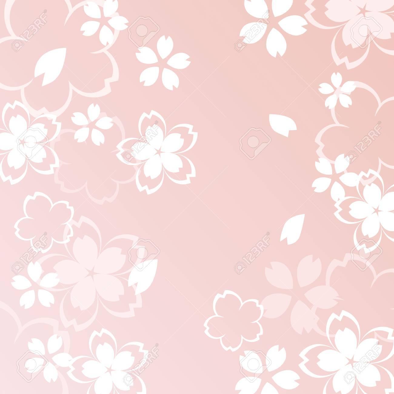 A beautiful cherry blossom illustration - 72211883