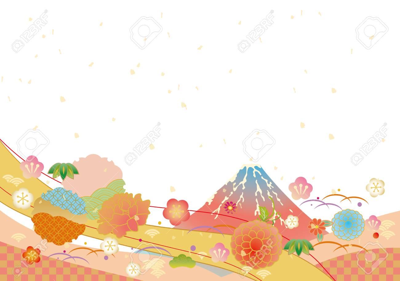 和柄の背景ベクトル イラストのイラスト素材ベクタ Image 85414639