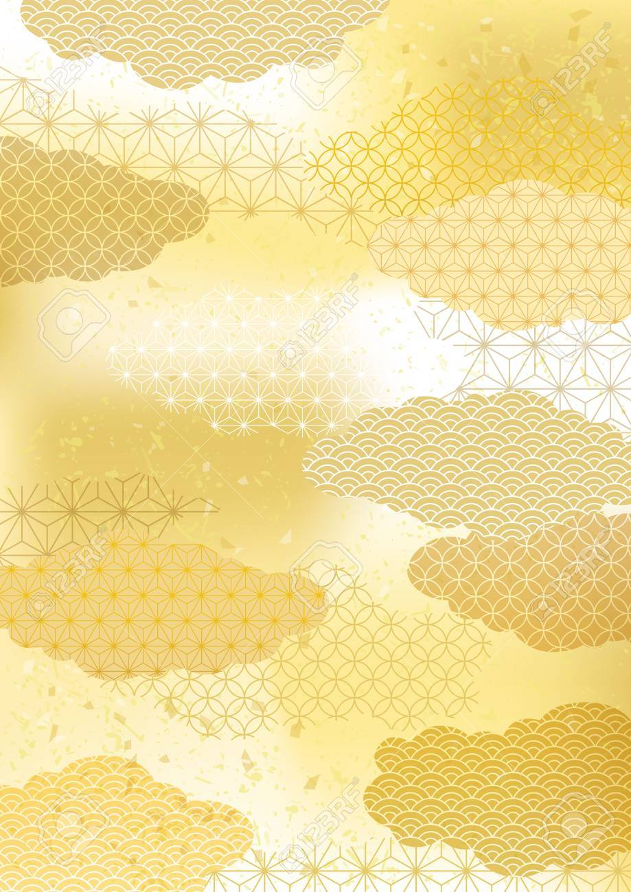 Japanese pattern background - 87049009