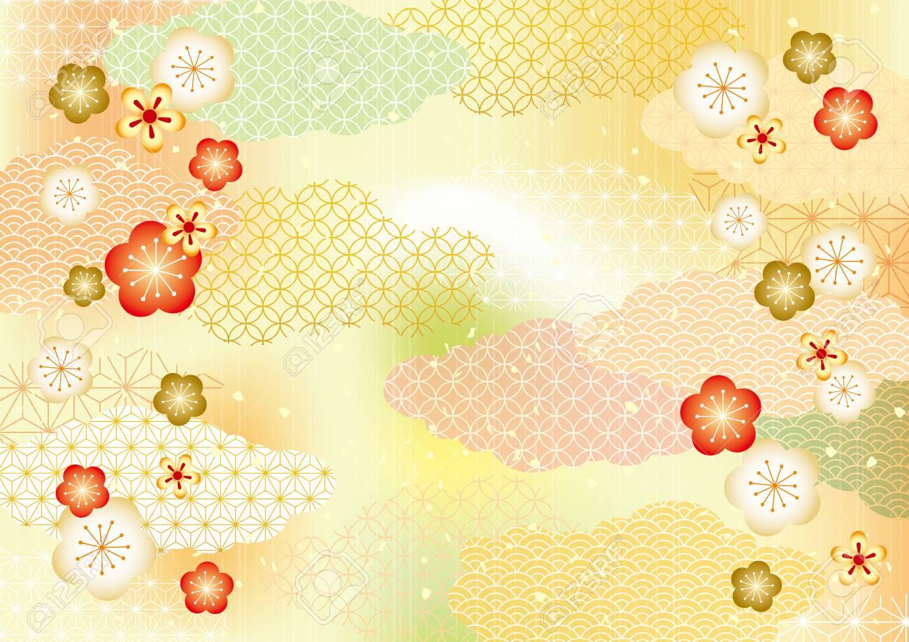 Japanese pattern background - 87049017