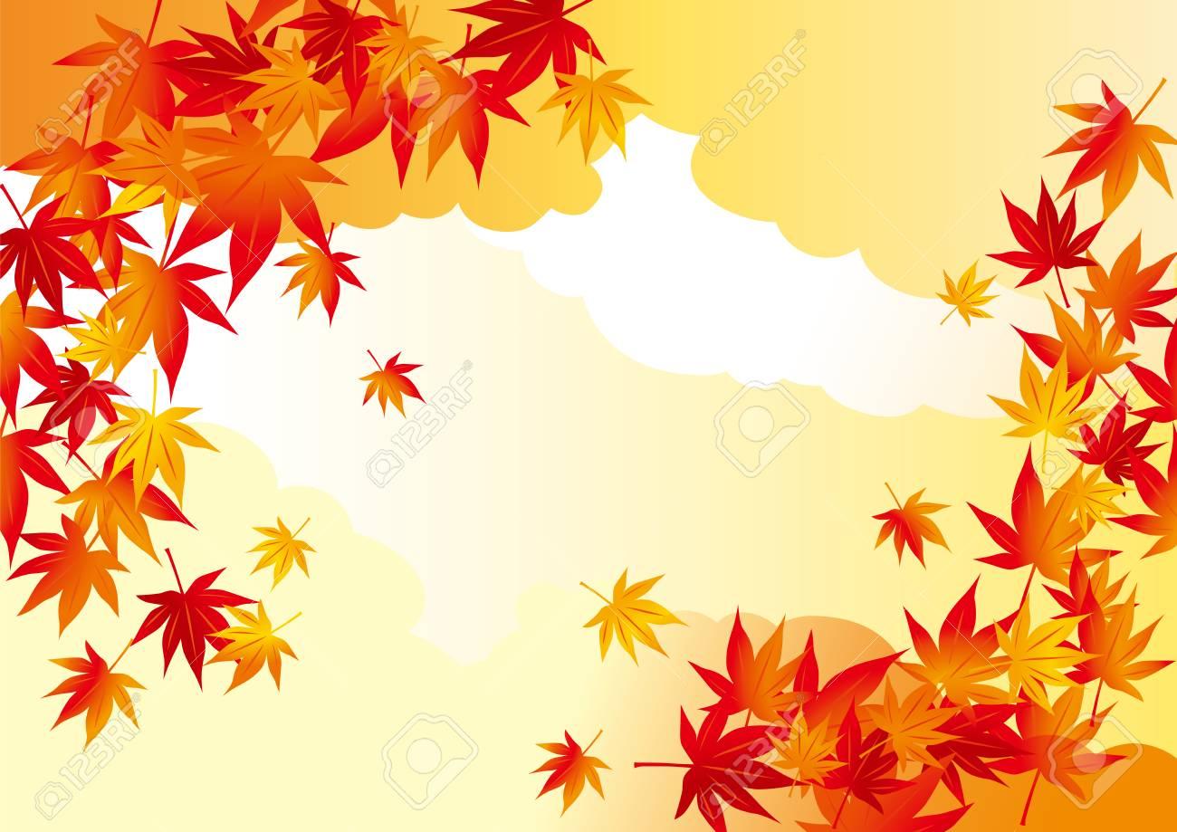A beautiful autumn leaves illustration - 106557312
