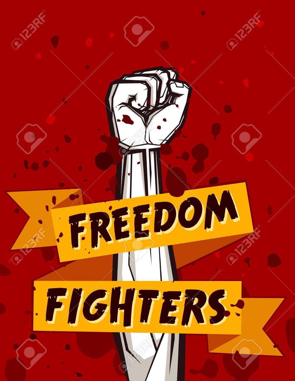 Clenched Fist Vector Illustration For Resistance And Revolution ...