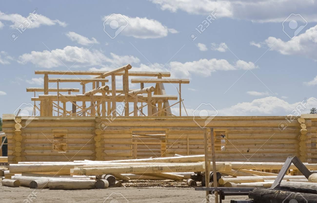 New home construction site - British Columbia, Canada Stock Photo - 3865545