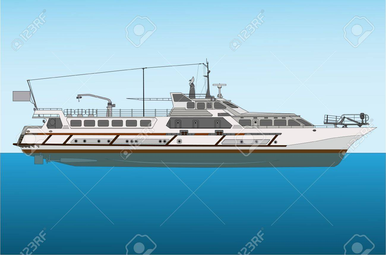 river craft Stock Vector - 17043528
