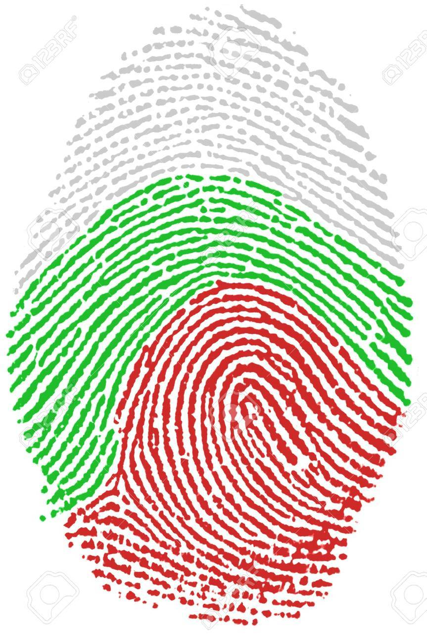 Fingerprint  - Bulgaria Stock Photo - 6924555
