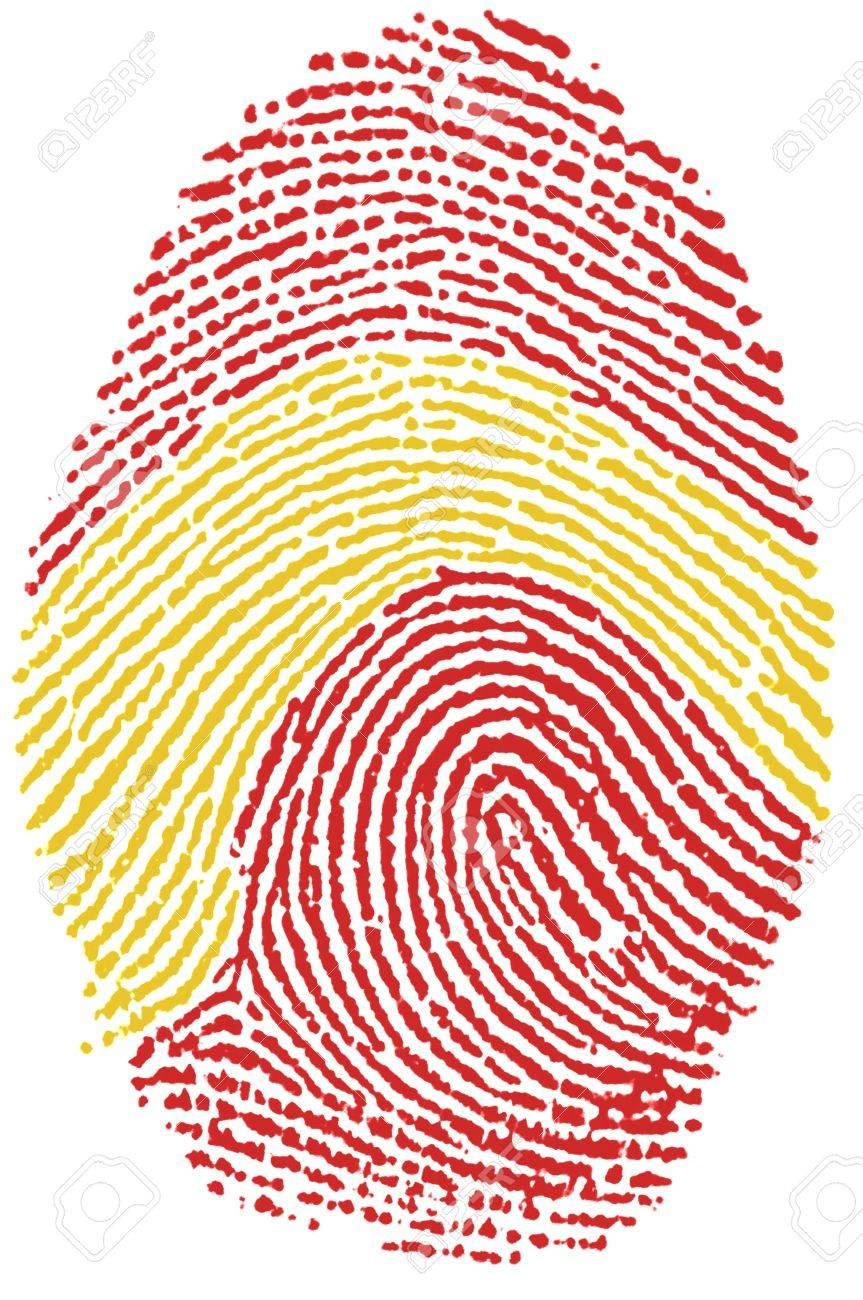 Fingerprint  - Spain Stock Photo - 6924556