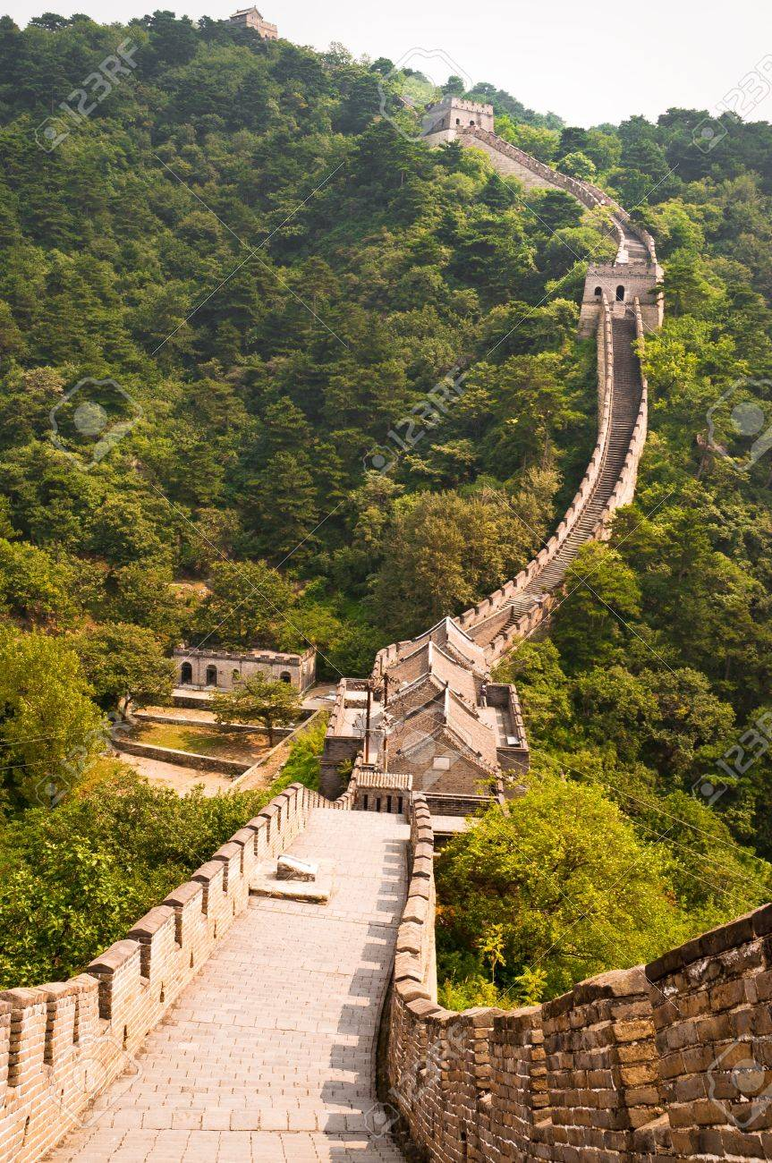 The Great Wall section in Mutianyu, china, near Beijing Stock Photo - 11816140