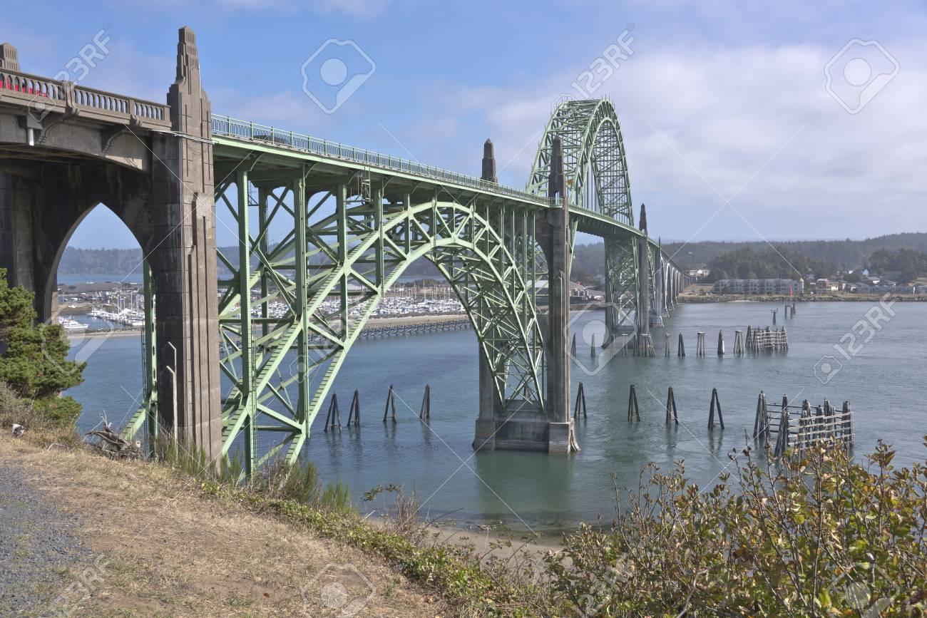 ヤーキーナ湾横断橋オレゴン州ニ...