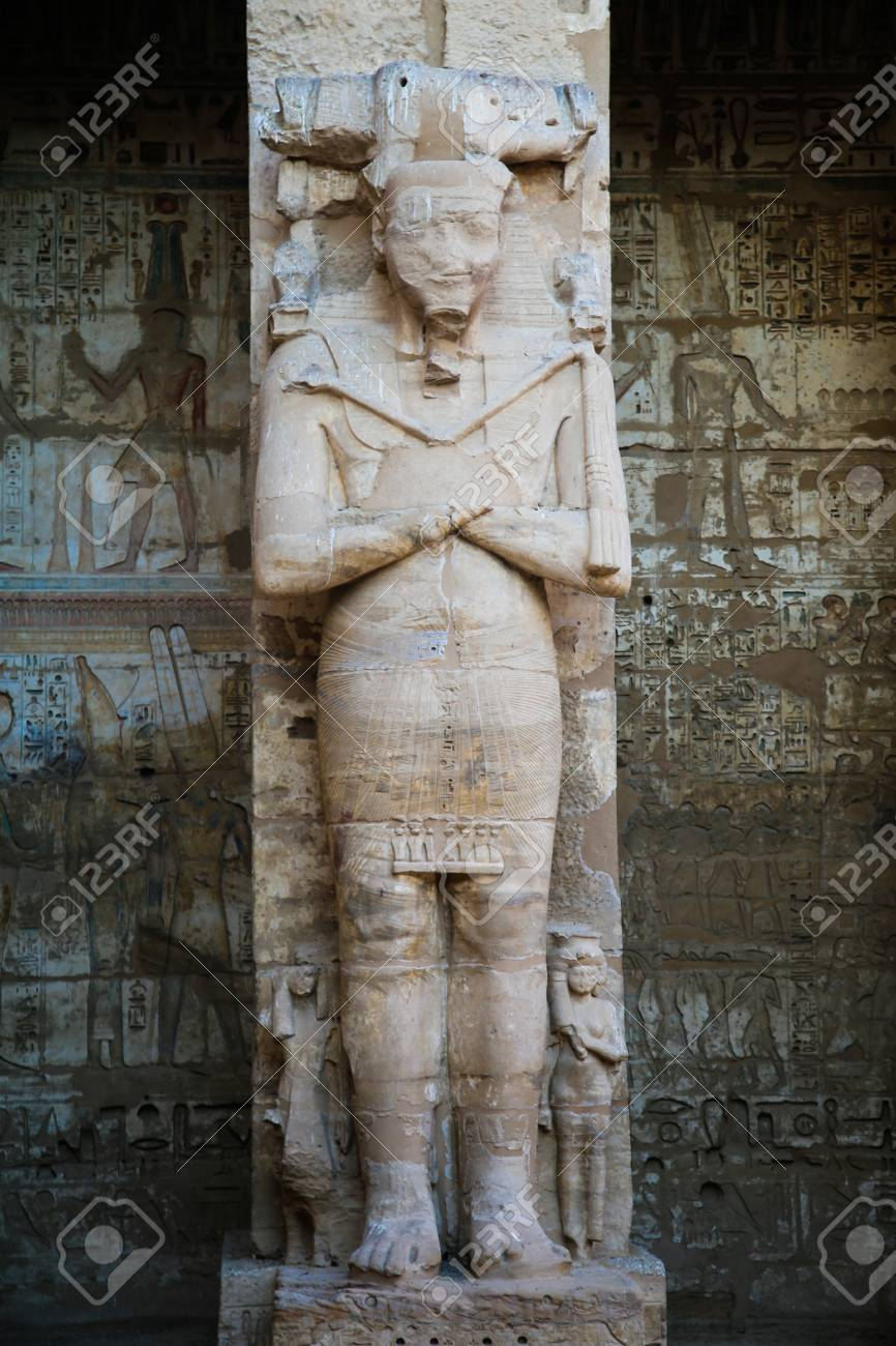 part of the temple in the city of the dead in Luxor - 110829175