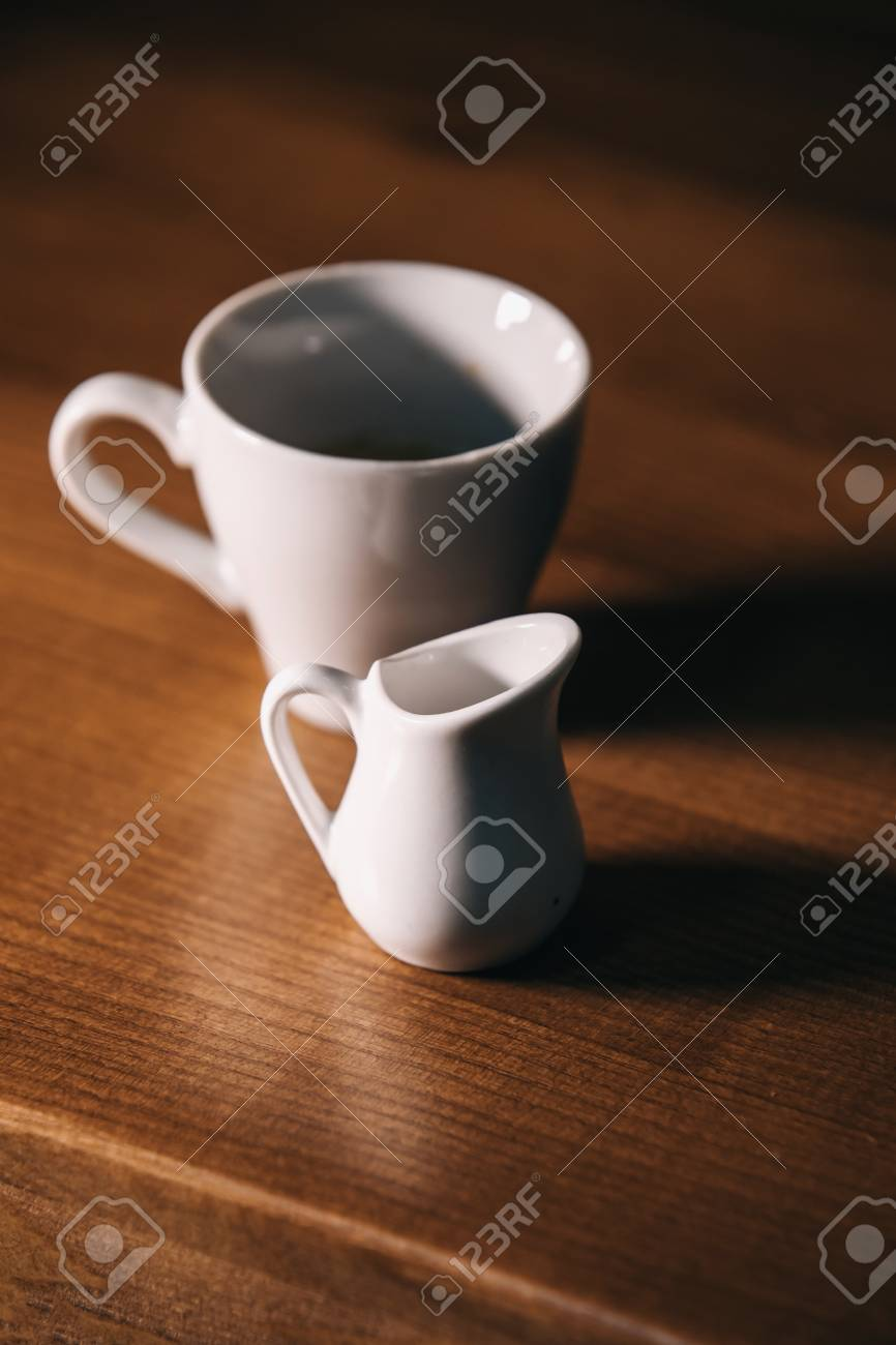 cup of coffe and milk - 99869221