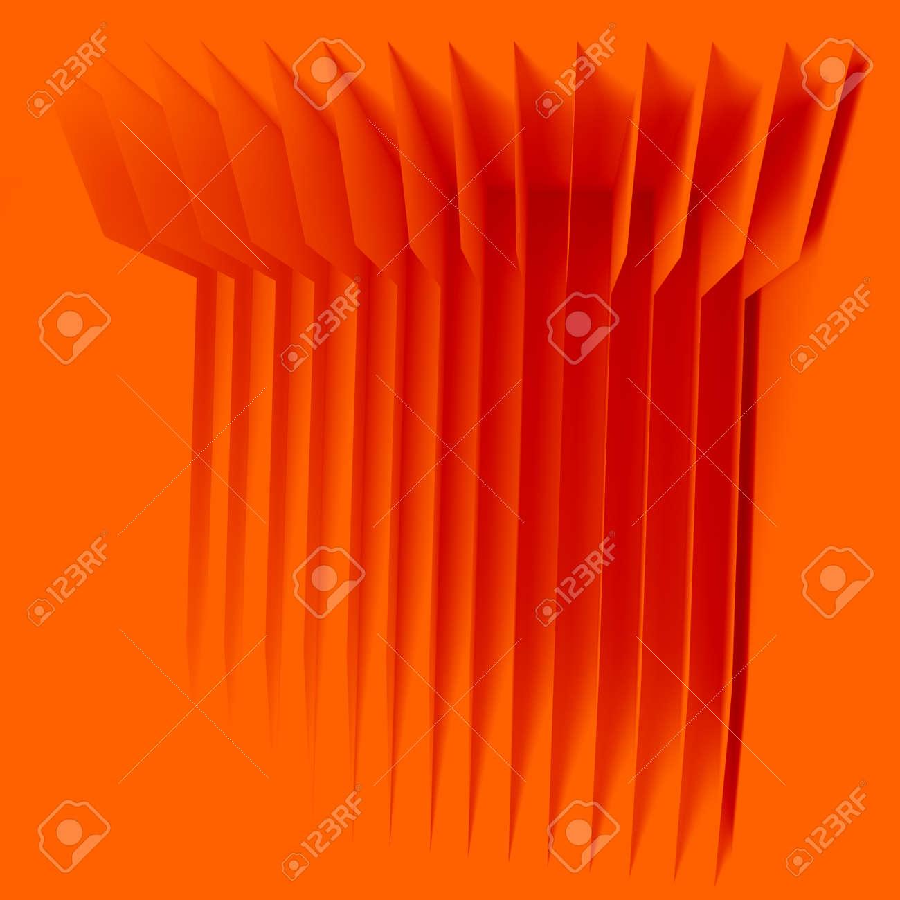 orange houses for real estate property industry, 3d illustration - 157639616